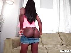 Sexy Ebony Kay Love Shows All Her Charms 1
