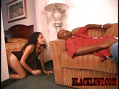 Mika and IT are hungry for some oral! Mika`s endless throat gets plundered with IT`s dark chocolate fuck stick. It`s a full on 69 assault between the horny couple that leaves no hole unlicked!